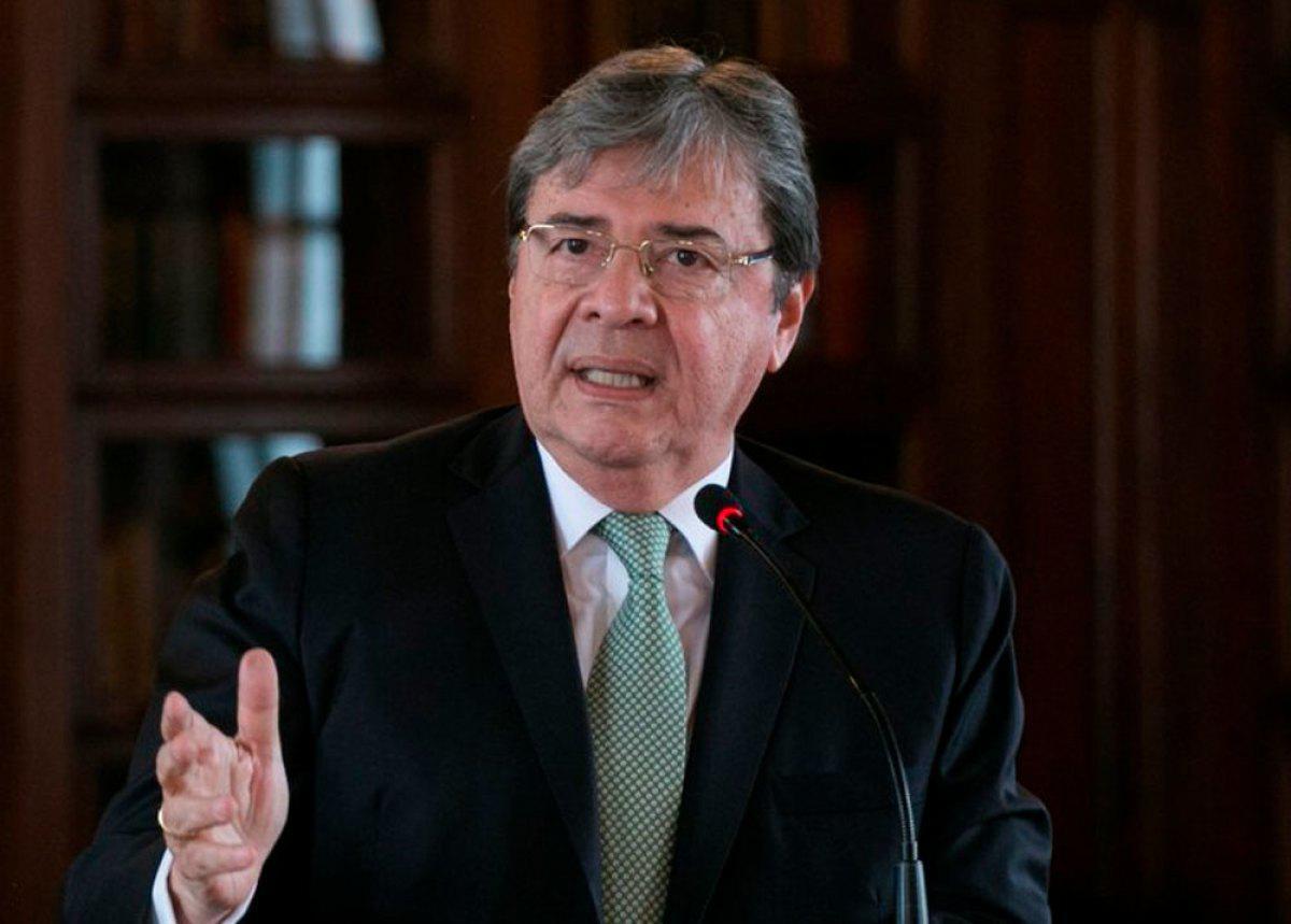 Falleció el ministro de Defensa de Colombia, Carlos Holmes Trujillo