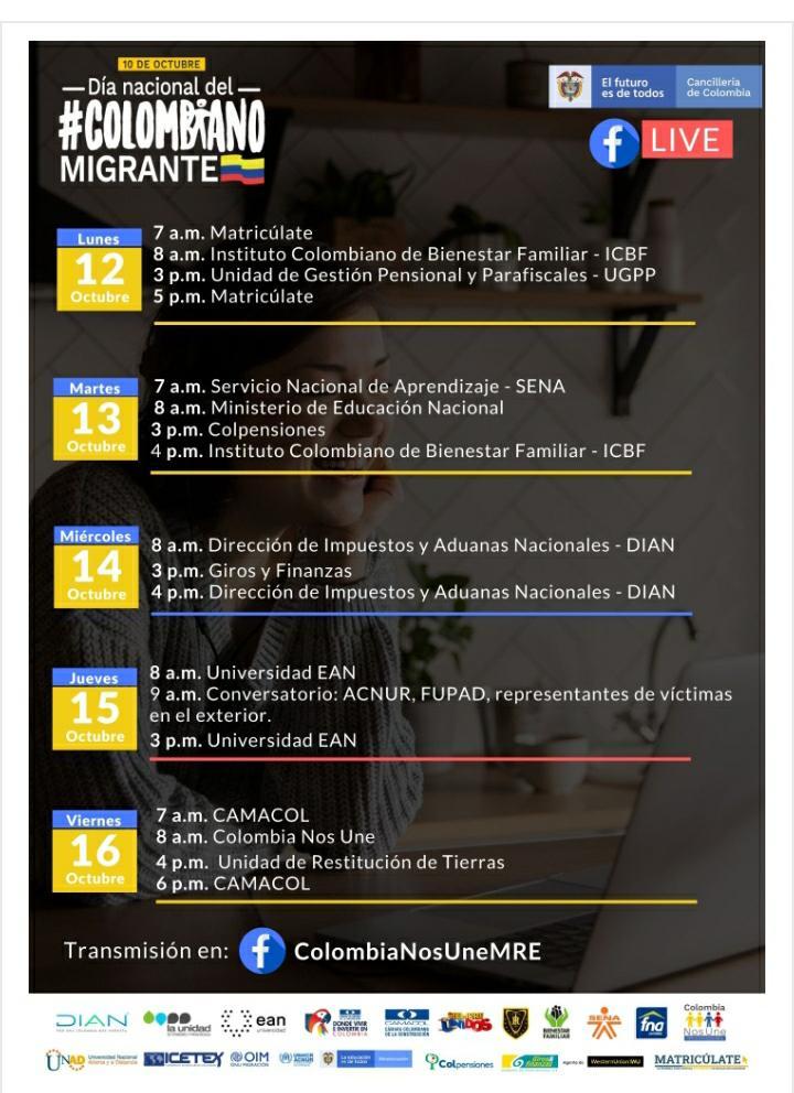 Día nacional del colombiano migrante