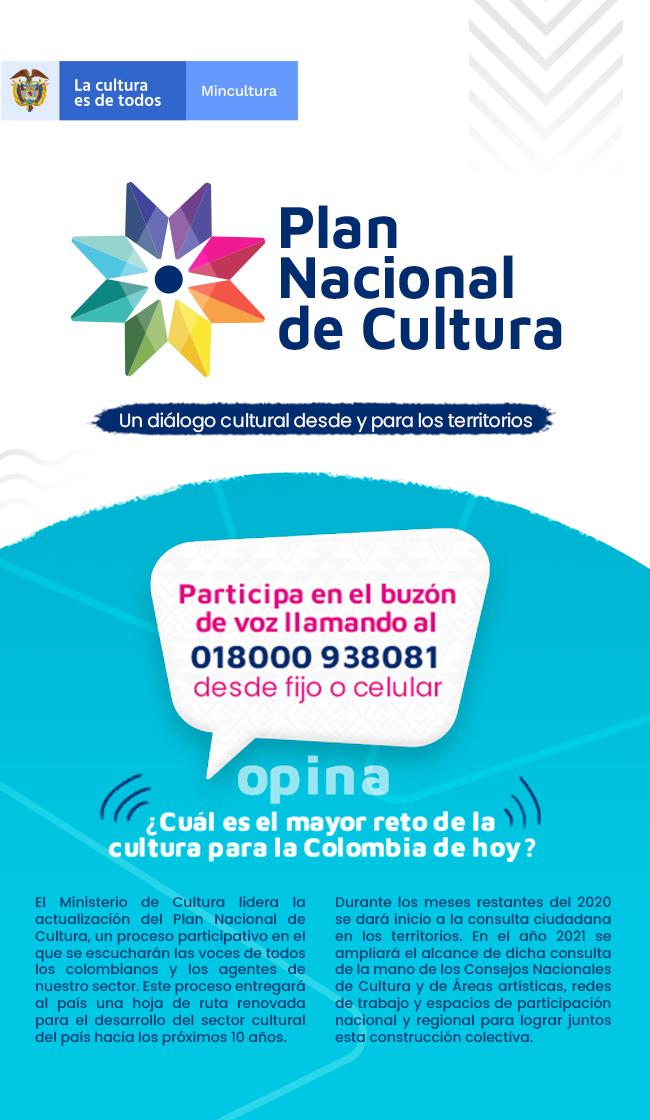 Plan nacional de cultura