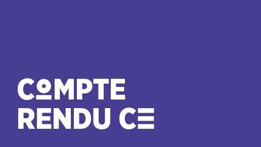CR CFDT CE juillet 2018