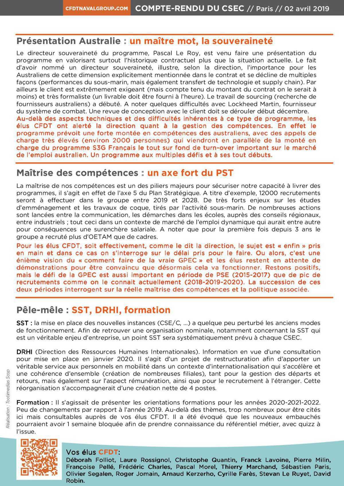 Un CSEC qui laisse sur sa faim : les compétences en « fil rouge »