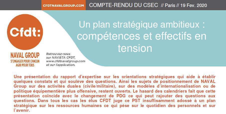 CR CSEC Février 2020