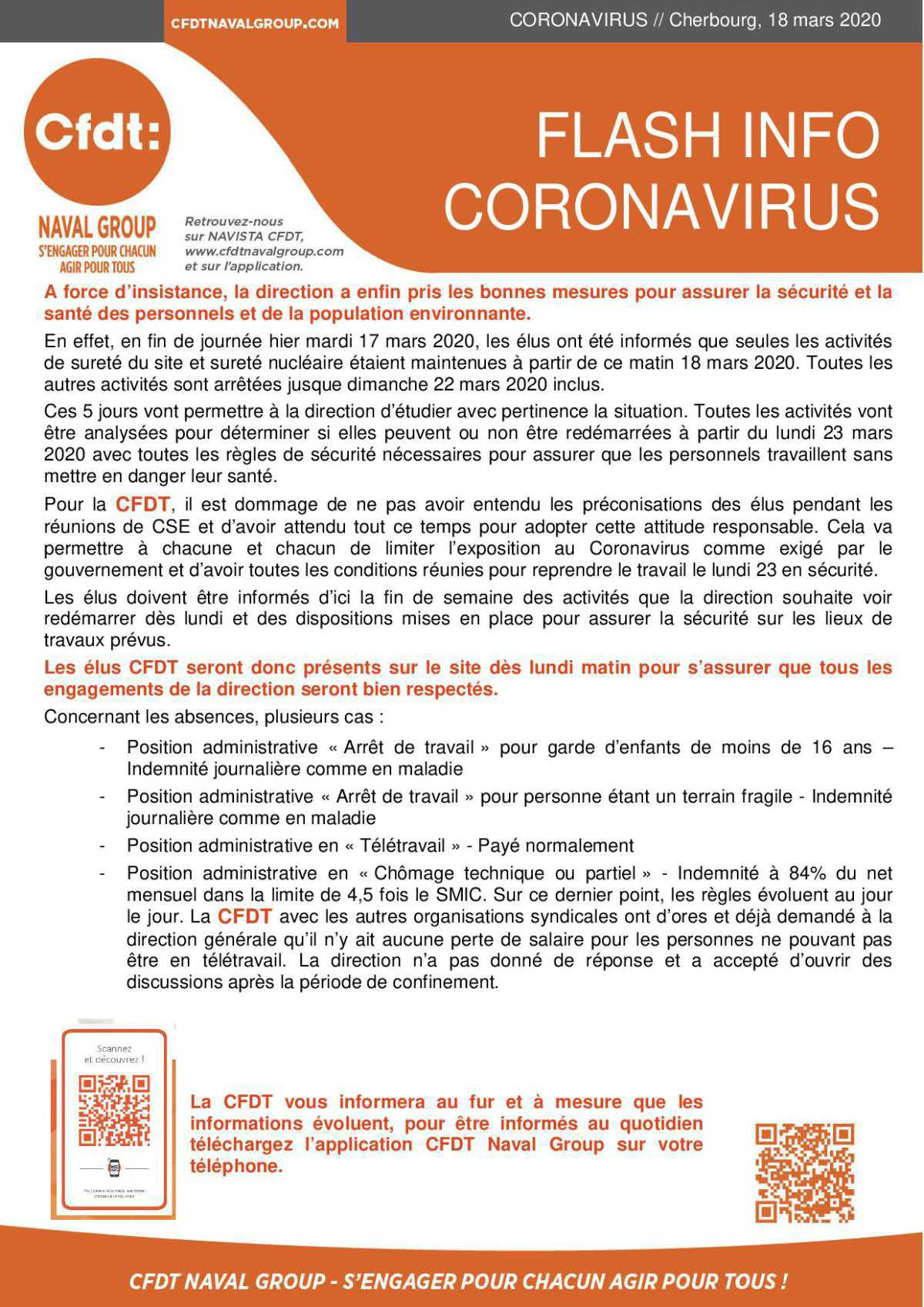 dernière info coronavirus