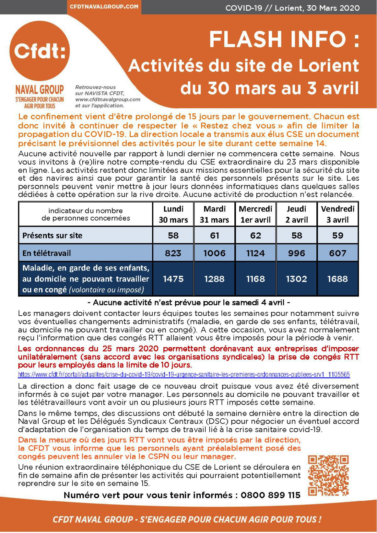 Flash info Lorient