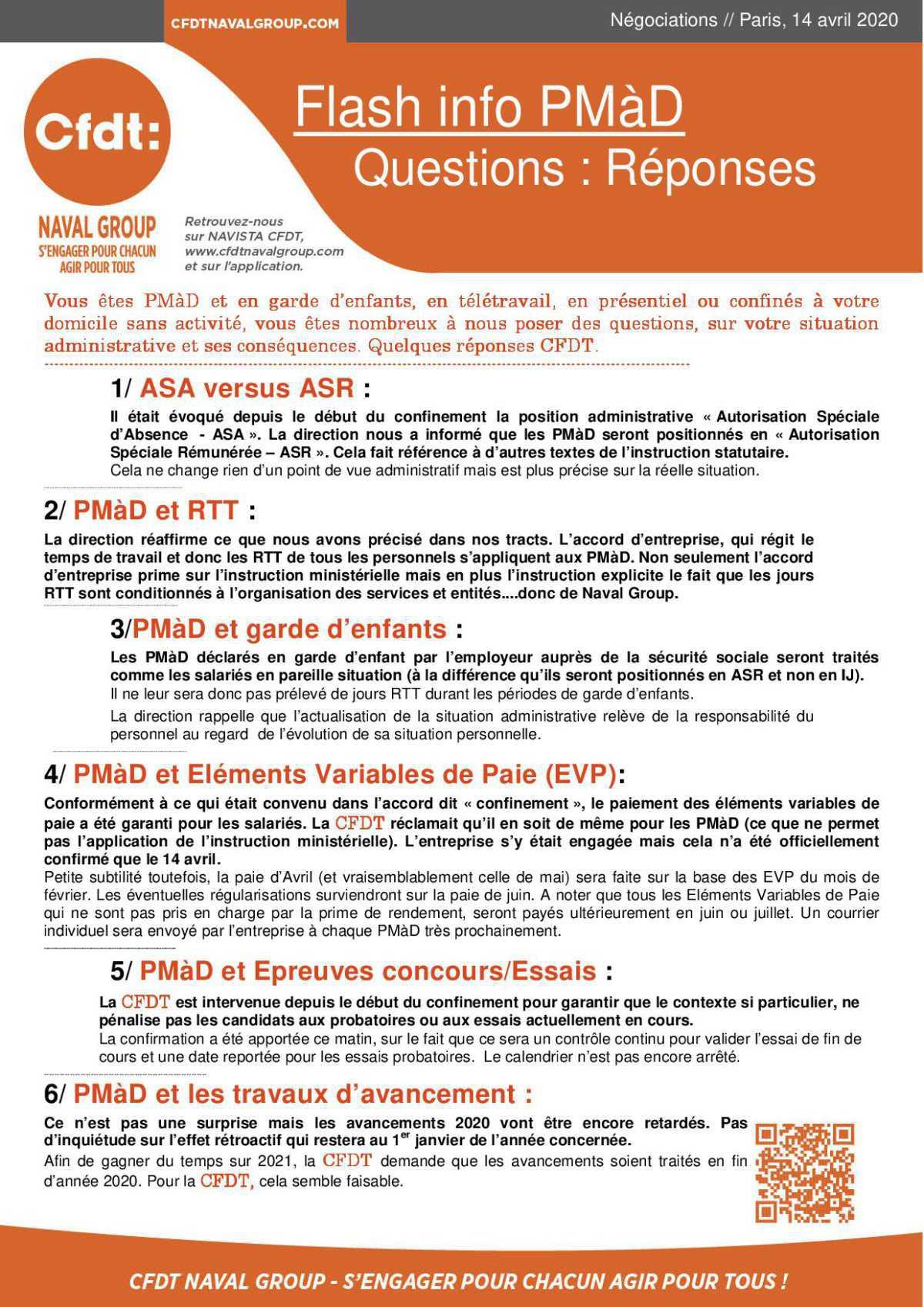 Flash Info PMAD