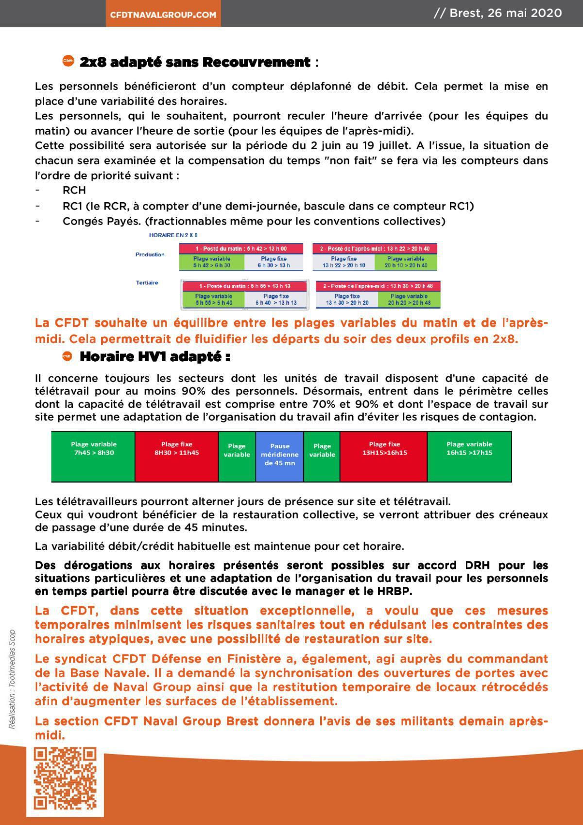 INFOS BREST du 26 mai 2020