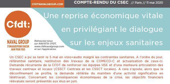 CR CSEC Mai 2020
