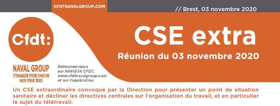 CSE Extra du 03 Novembre 2020