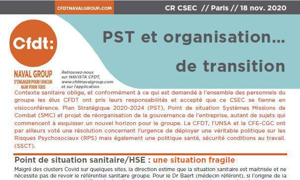 CR du CSEC du 18 Novembre 2020