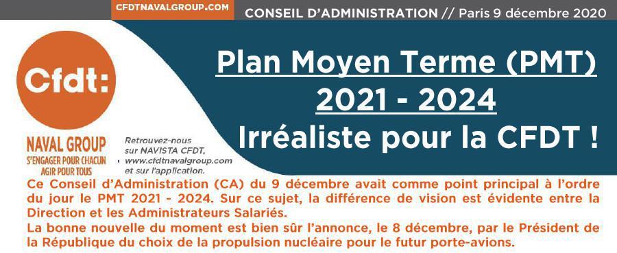 CR du conseil d'administration du 9 décembre 2020