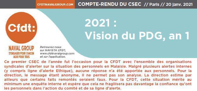 CSEC du 20 Janvier 2021