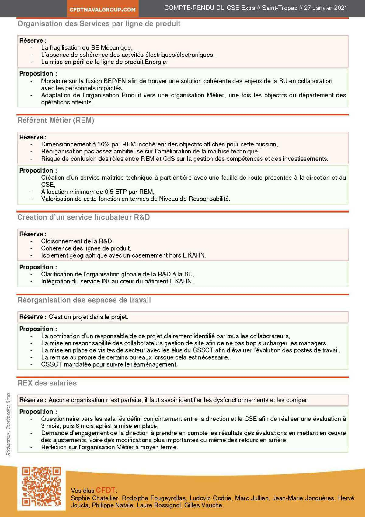 CR CSE Extra du 27 janvier 2021 (réorganisation DI)