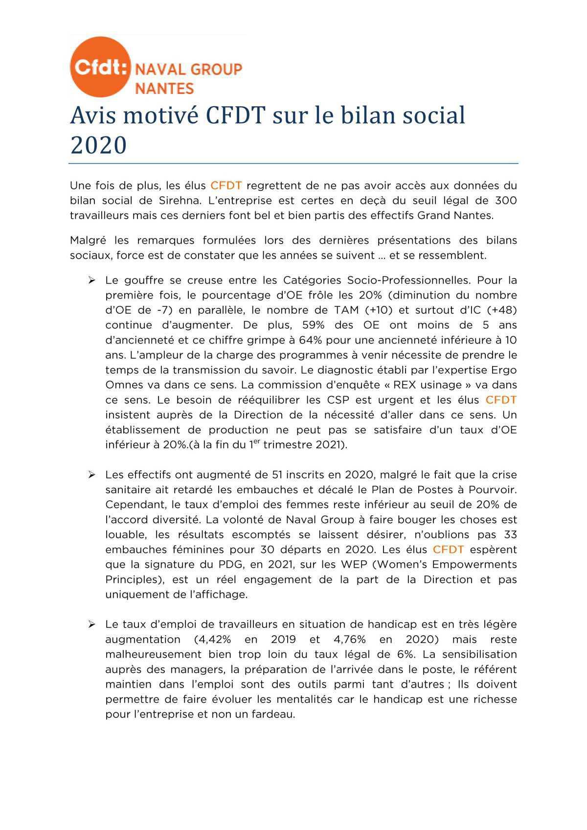 CR du CSE 8 juin 2021