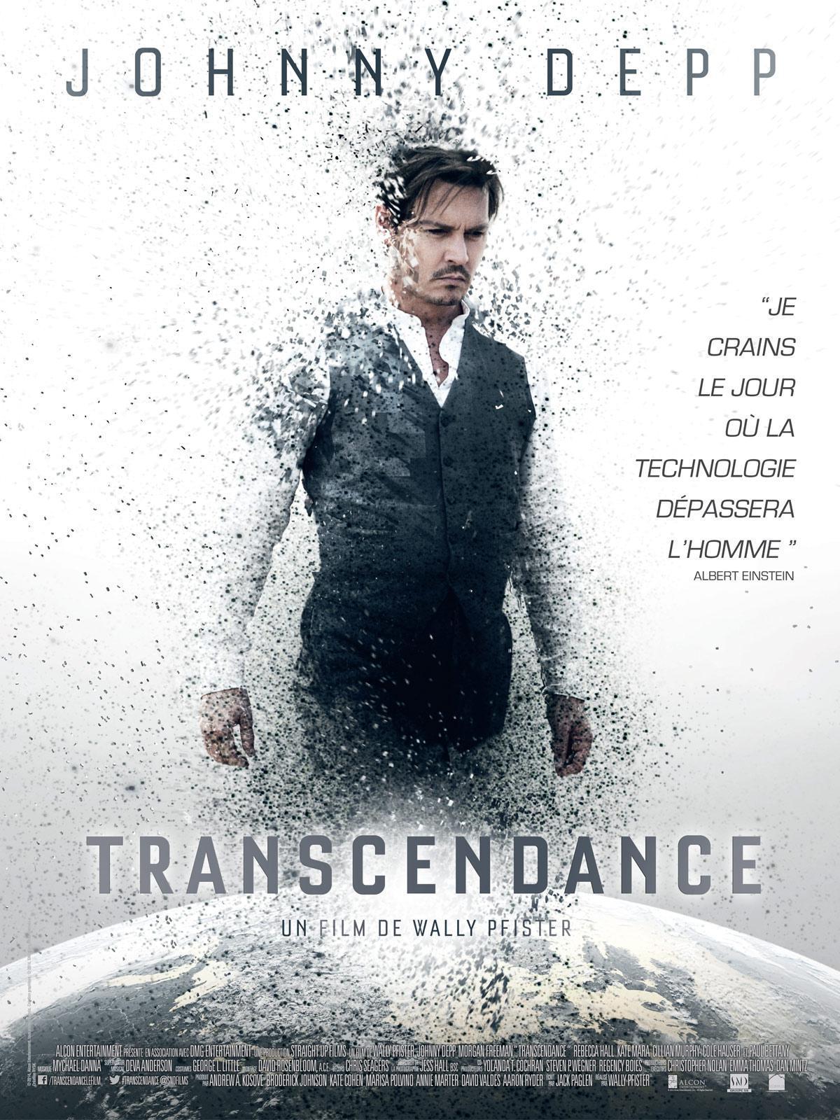 Cinéma : Transcendance de Wally Pfister