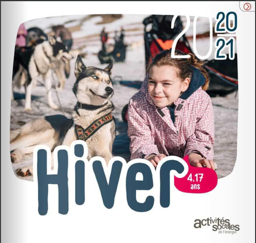 Catalogue séjours jeunes National - Hiver 2020/2021