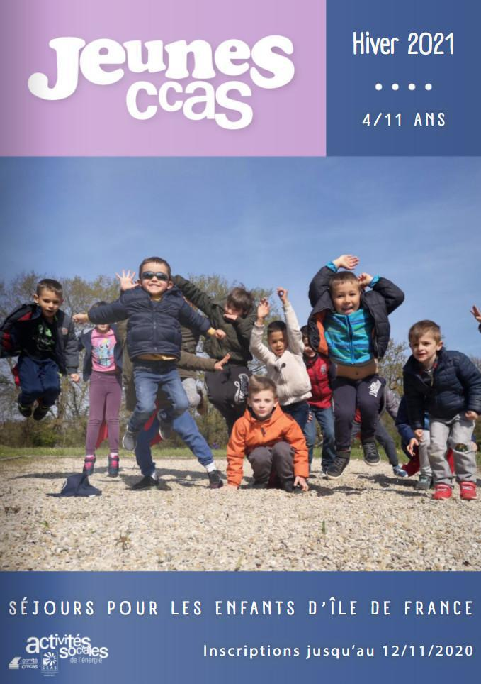 Catalogue séjours jeunes Régional - Hiver 2020