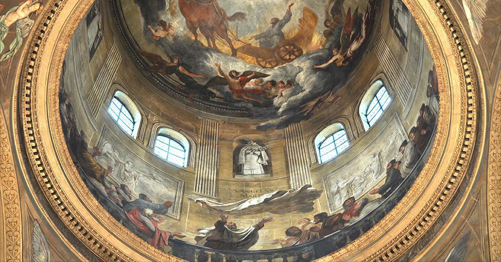 Le couvent et l'église Saint Joseph des Carmes, le baroque à Paris