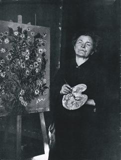 Séraphine de Senlis et autres artistes médiumniques, conférence de Sylvie Testamarck