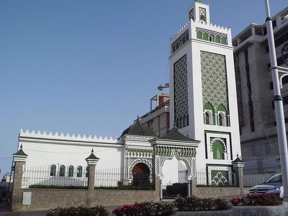 مسجد  الأعظم مولاي المهدي بمدينة سبتة المغربية