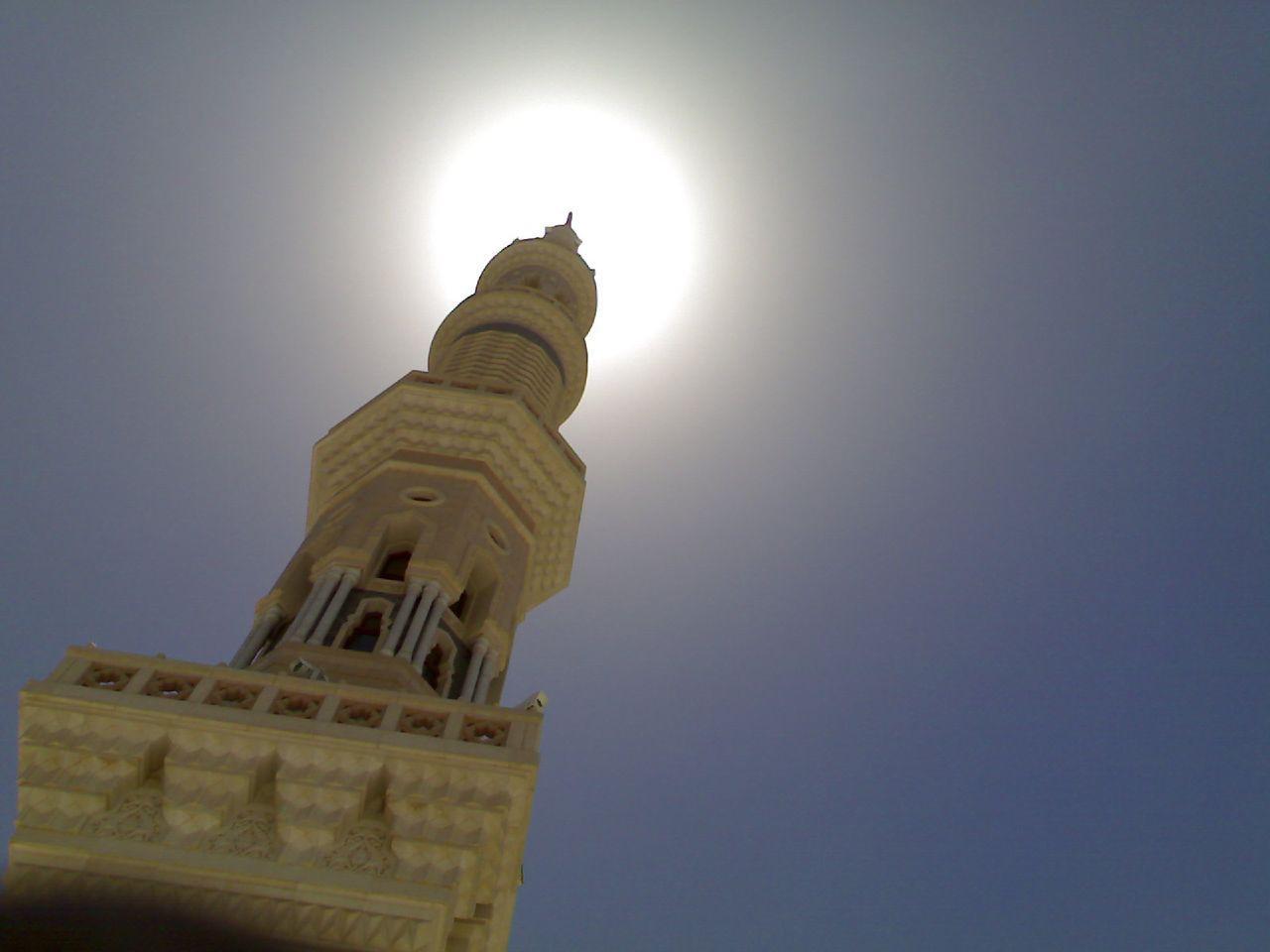 Masjid Al Nabawi in Madinah - Saudi Arabia (minarett