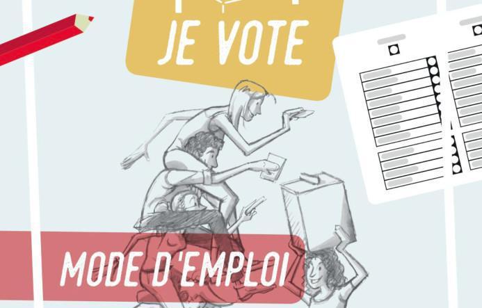 Je vote POUR ! Plus d'information sur le fonctionnement des élections