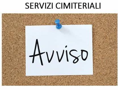 MODALITA' DI ACCESSO AI CIMITERI COMUNALI