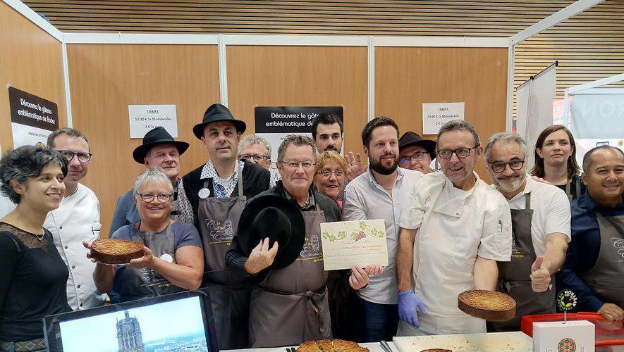 La mandarelle de Rodez certifiée par le Club des Épicuriens
