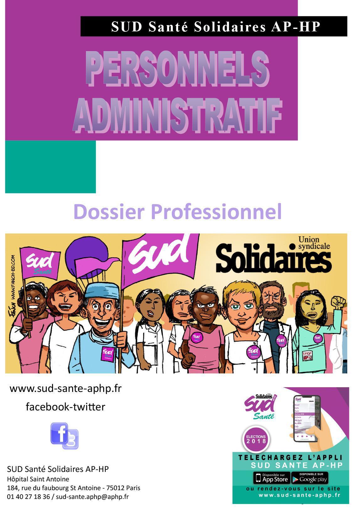 Dossier Personnels Administratif