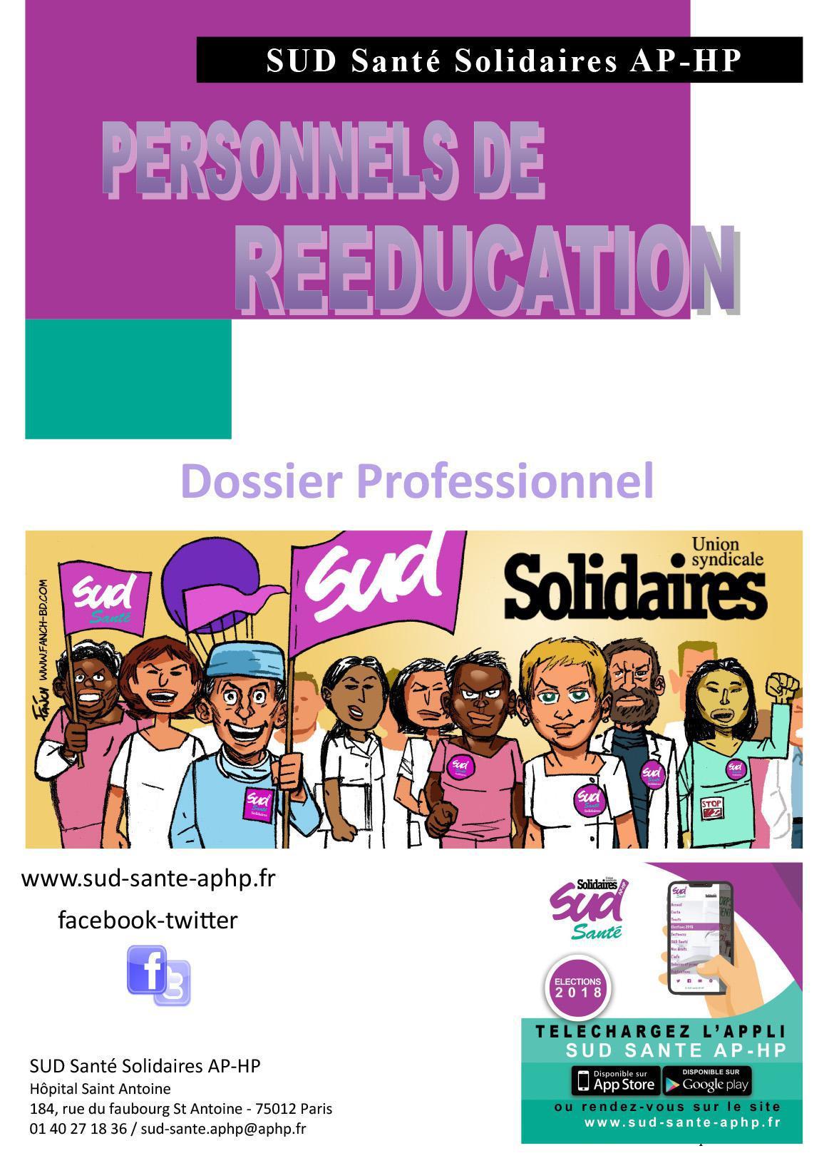 Dossier Personnels de Rééducation