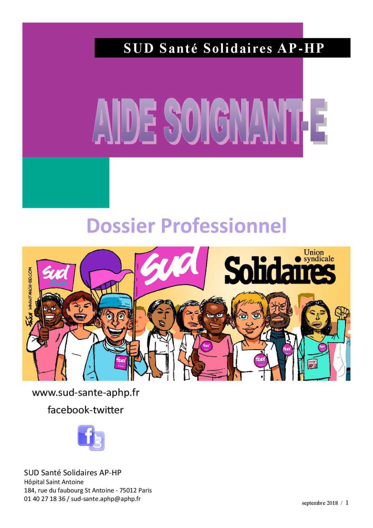 LES AIDES-SOIGNANT-ES
