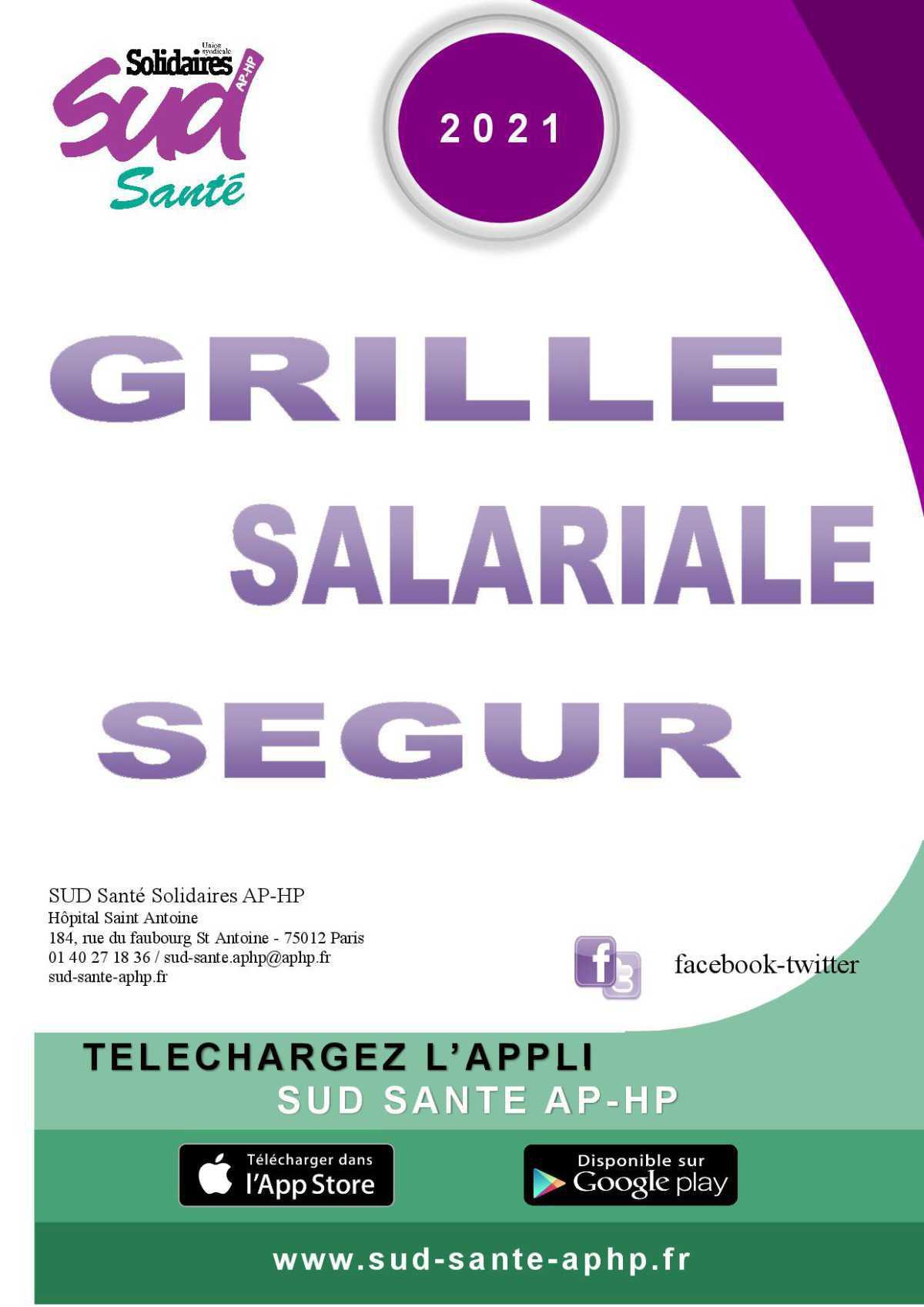 Grille salariale Ségur