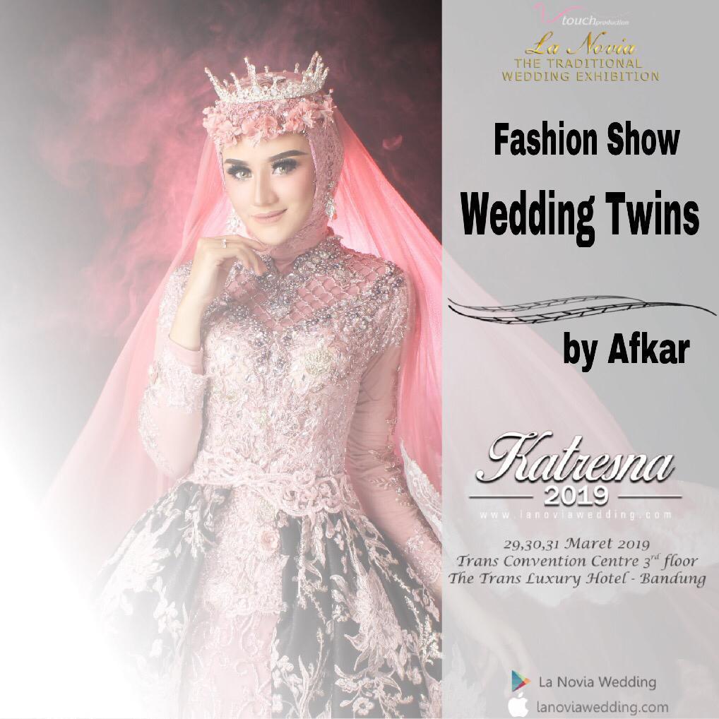 Fashion Show Wedding Twins by Afkar