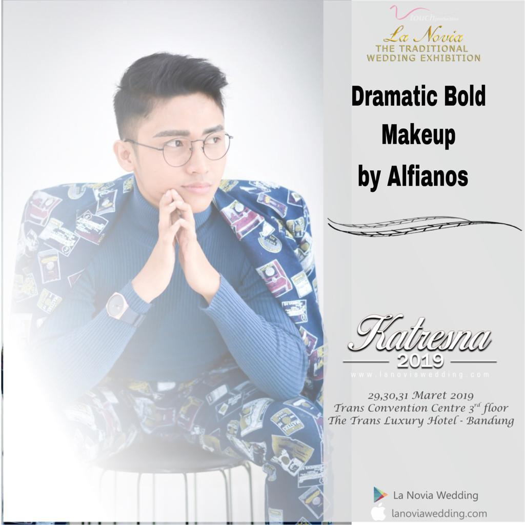 Dramatic Bold Makeup by Alfianos