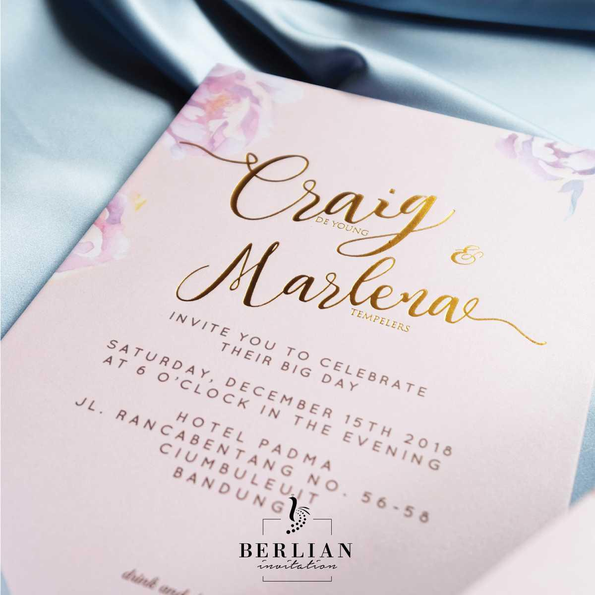Berlian Invitation