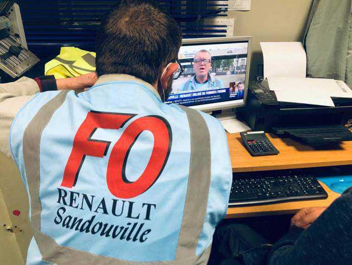 FERMETURE DE RENAULT SANDOUVILLE EN MAI 2020 : UNE DECISION DE JUSTICE INJUSTIFIEE, LA CGT EST DEBOUTEE.