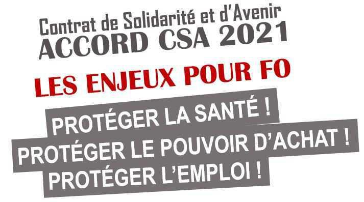 Nouveau « Contrat de Solidarité et d'Avenir »