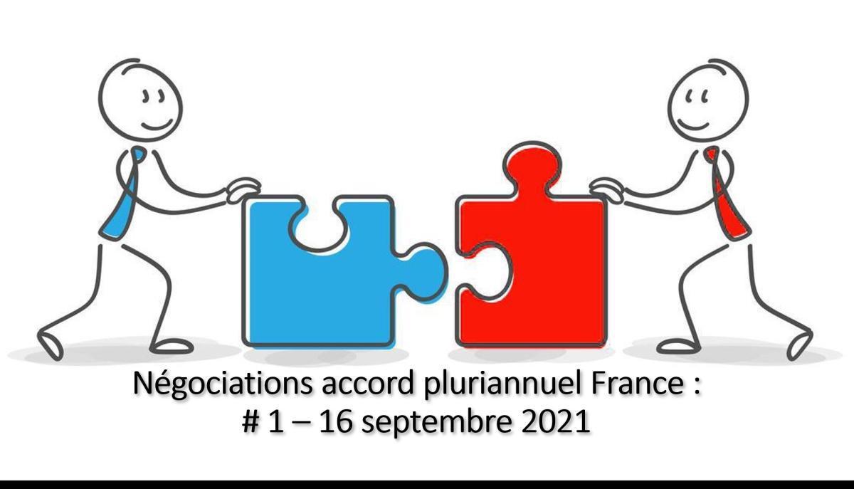 Négociation d'un projet d'accord pour l'avenir de Renault en France