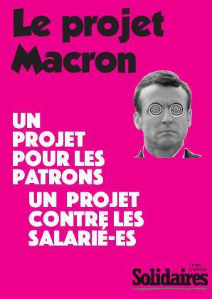 Le projet Macron