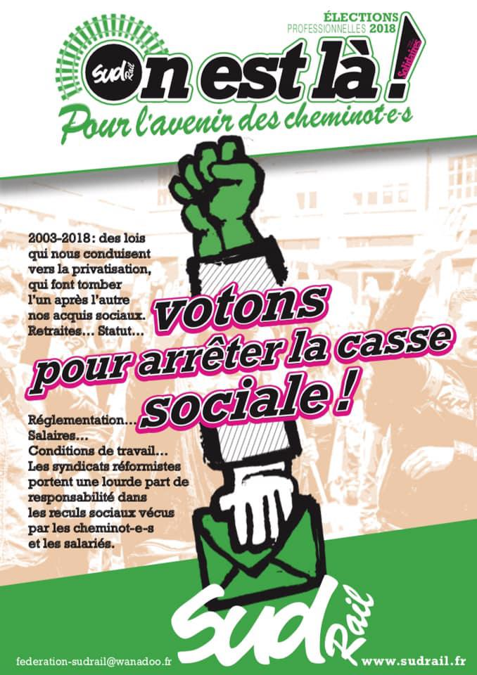 Votons pour arrêter la casse sociale !