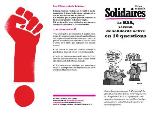Le RSA, revenu de solidarité active en 10 questions