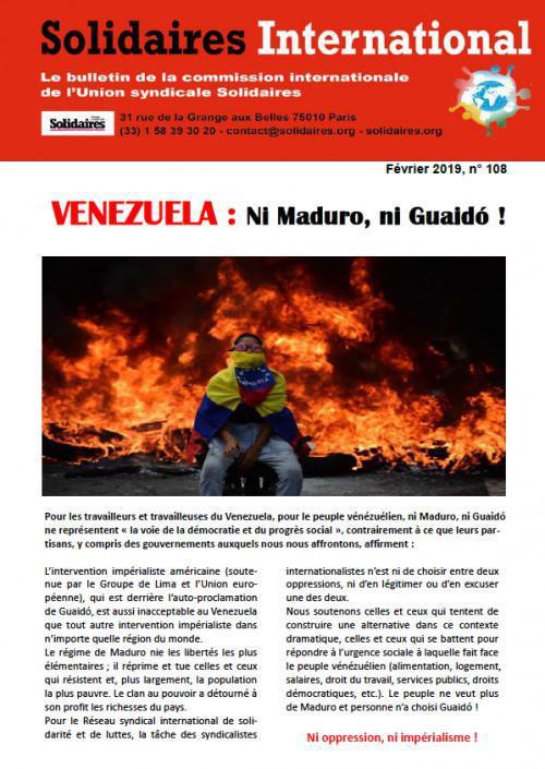 Bulletin international n°108