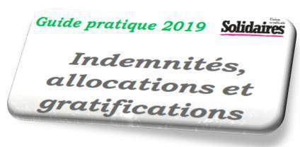 Guide pratique 2019. Indemnités, allocations et gratifications