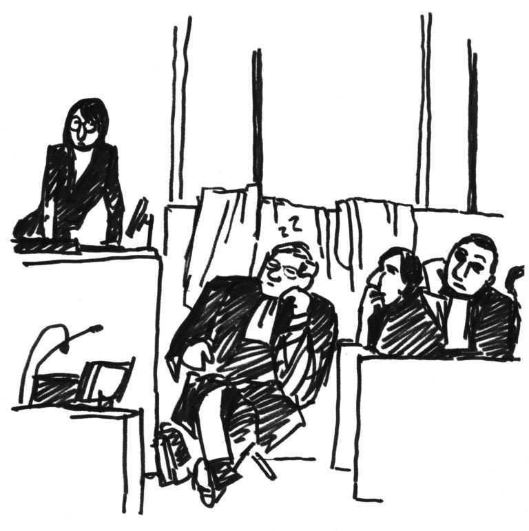 Jour 14 – « Ils ont exigé des fauteuils » (visite à une installation judiciaire)