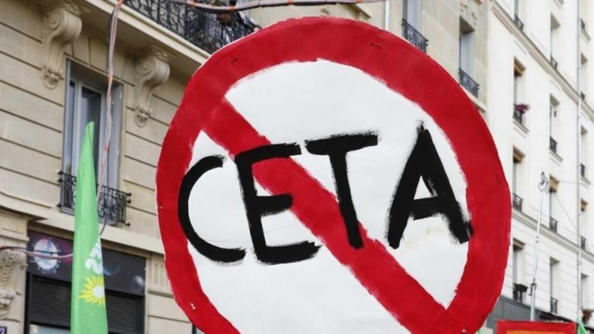 Vote de l'assemblée nationale : la majorité préfère le CETA au climat
