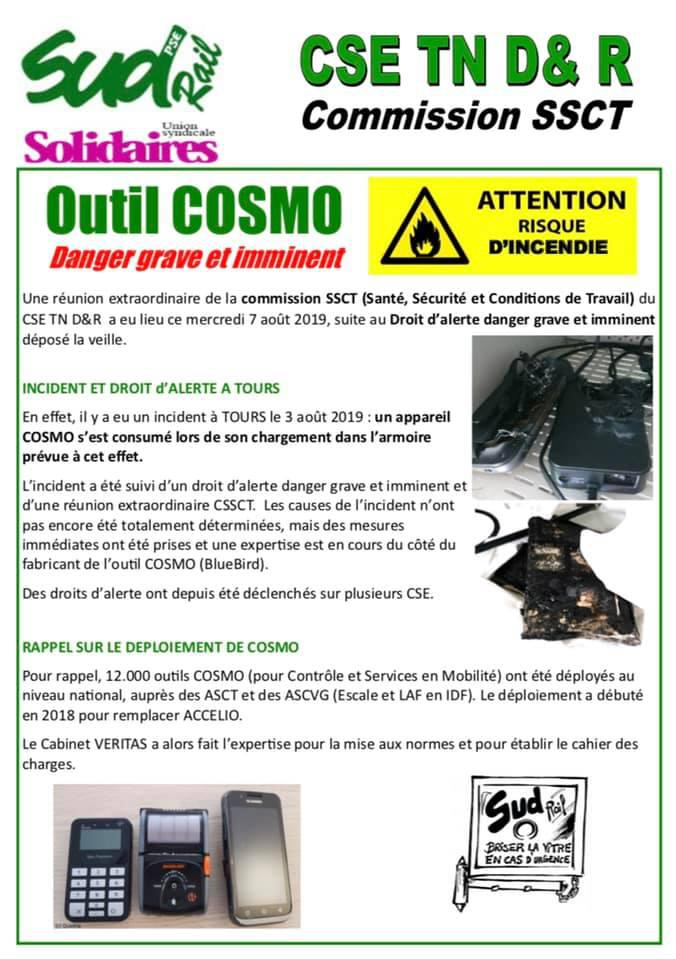 Outil COSMO : Danger grave et imminent
