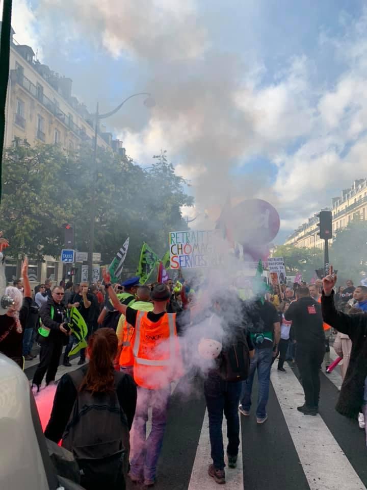 Mobilisation réforme des retraites : Mardi 24 Septembre 2019