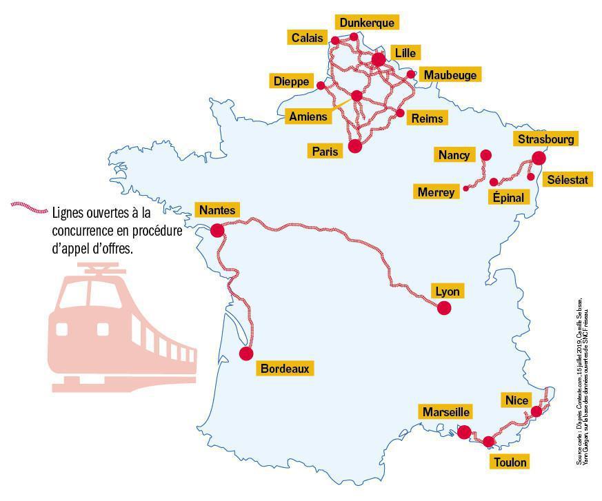 SNCF : les surprises de la concurrence
