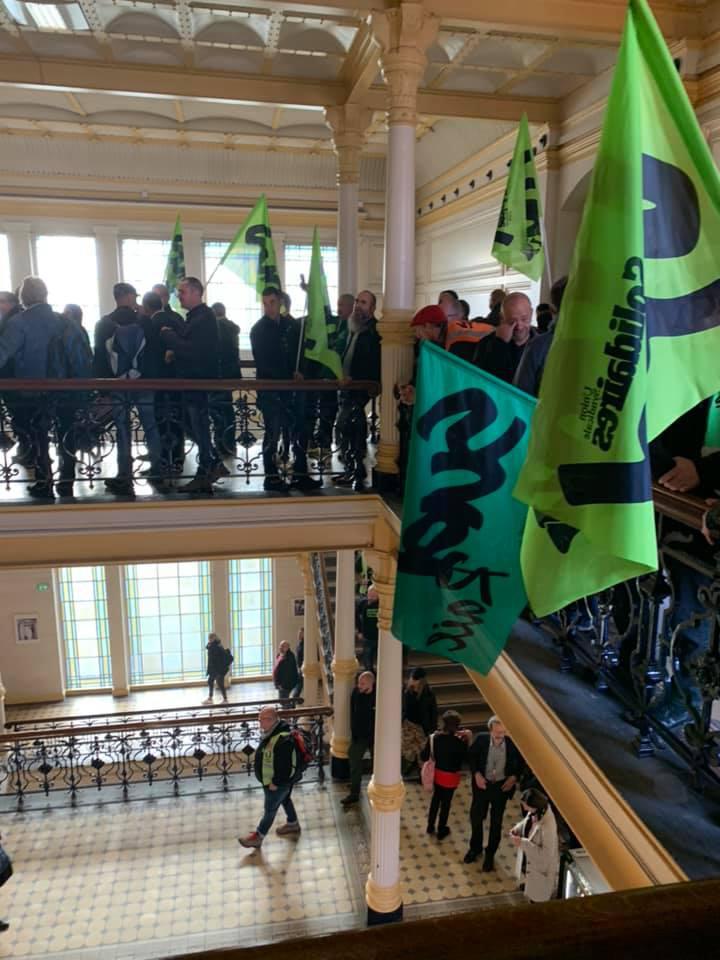 Strasbourg : Rassemblement pour Mathieu