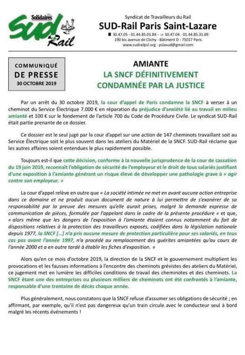 La SNCF définitivement condamnée par la justice