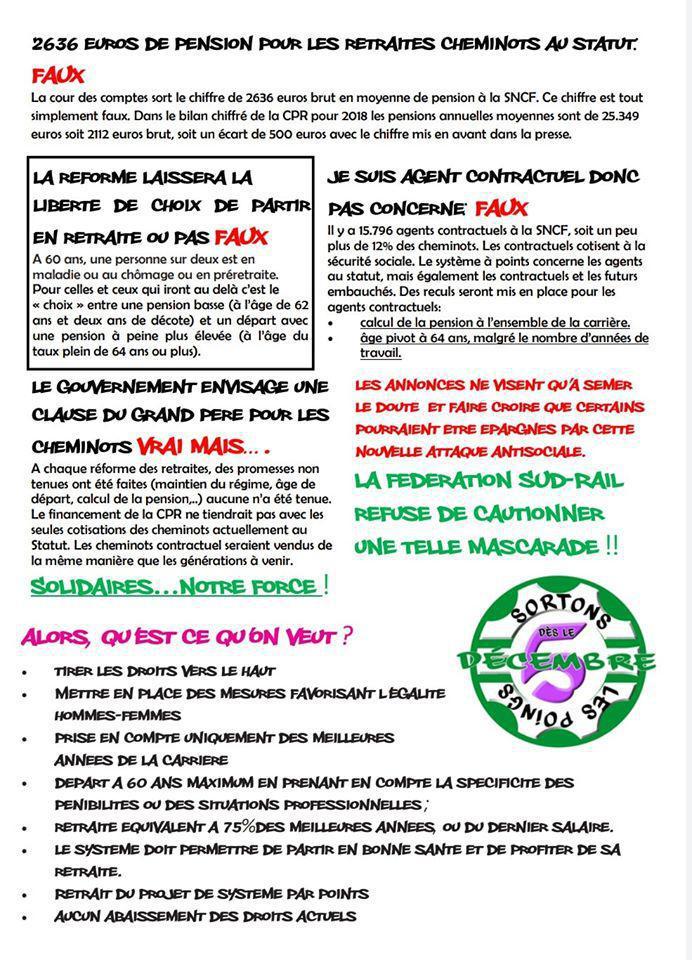 Retraites, STOP aux Rumeurs !!